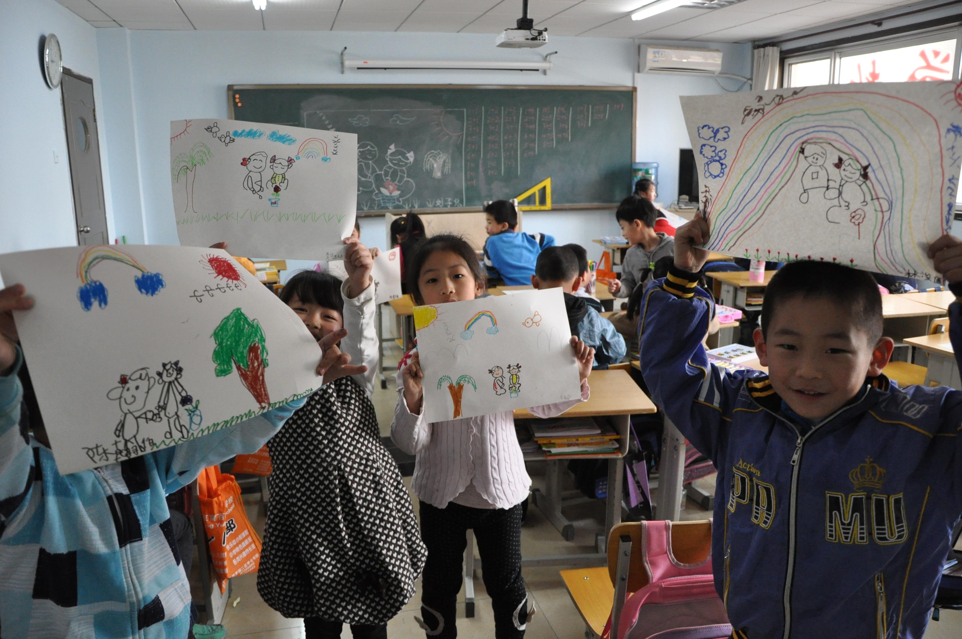 美术活动-北京育百德培训学校-少儿网站